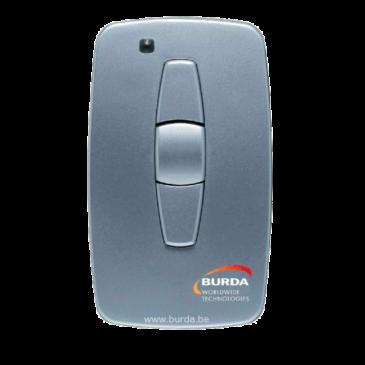 BRD-S3 Handzender Solo Bidirectional Zilver/grijs